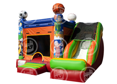 Mini Slide Sports Arena