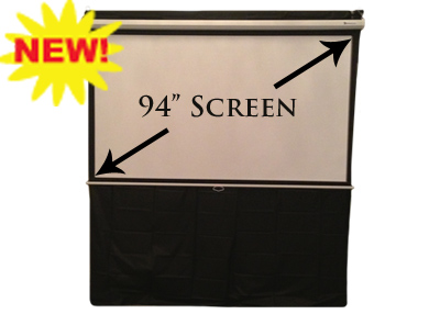 Projector Screen 94 inch