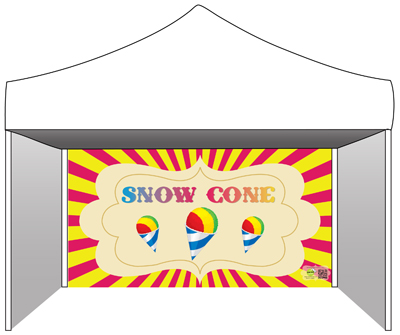 Snow Cone Booth Rental