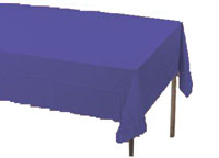 purple rectangular table cover