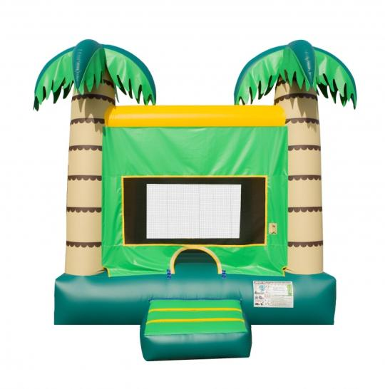 palm tree inflatable, palm tree bouncer, palm tree jumper