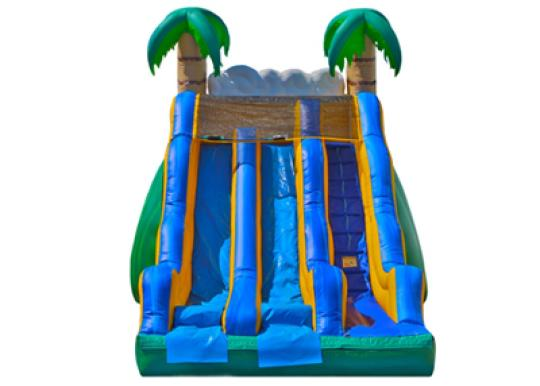 tropical inflatable slide rental