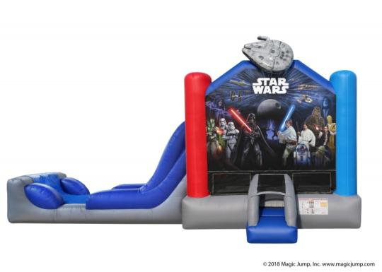 rent star wars inflatable combo