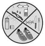 No sharp objects, shoes, valuables, food or drink